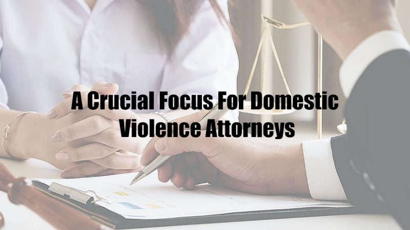A Crucial Focus For Domestic Violence Attorneys